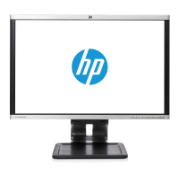 "Hp La2405x 24"" Led Backlit 16:10 Monitor Silver/black - (1920x1200)/ha/ti/sw/pi/vga/dvi-d/dp/vesa A9p21at - xep01"