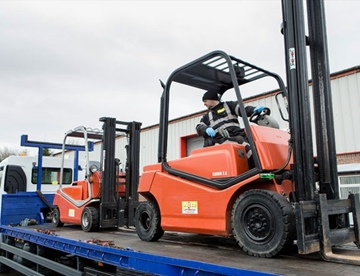 Electric Forklift Hire in Ayrshire