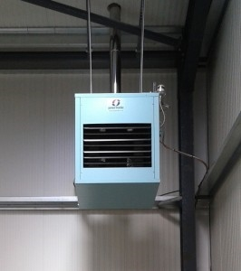 Suspended Industrial Oil Heaters