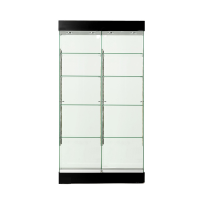 Double Bay Glass Collectors Cabinets