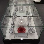 UV Bonded Exhibition Display Cabinets