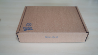 Cardboard Postal Packaging Box With Tear Off Strip