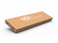 Tape Sealing Corrugated Cardboard Subscription Boxes