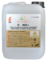 Clear Flame Retardant Impregnation Treatment For Timber