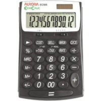 EcoCalc Recycled Desktop Calculator