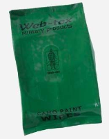 CAMOUFLAGE WET WIPES FACE PAINT PACK.