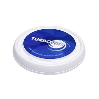 TURBO PRO FLYING ROUND DISC OR FRISBEE.