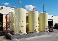 Decommissioning Of old solvent Tanks
