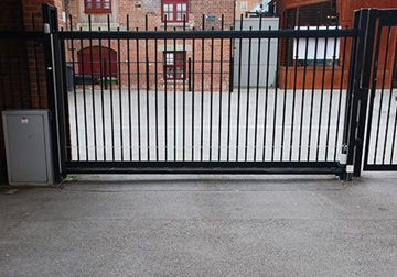 High Security Sliding Steel Barriers