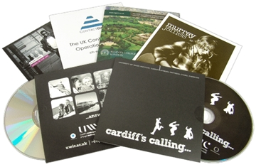 Audio CD Duplication with Branded Wallets