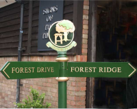 Aluminium Fingerpost Signs