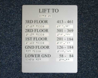 Anodised Aluminium Sign Manufacturer In Leighton Buzzard