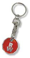 BEST SELLER! NEW ?1 Coin Trolley Coin Keyring (NEW?1TROLLEYCOIN)