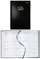 Strata A5 Desk Diary - Week To View - White Paper (96200/96200S)