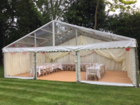 Clear Span Marquees For Wedding Receptions