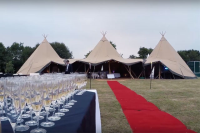 High Quality Tipi Marquees For Wedding Receptions