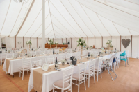 High End Traditional Marquees For Wedding Receptions