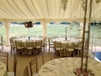 Bespoke Clear Span Marquees For Wedding Receptions