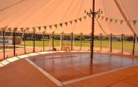 Locally Based Sailcloth Marquees For Wedding Receptions