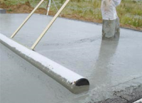 Concrete Rollers In PVC