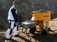 300 litre Forced Action Mixer For Construction