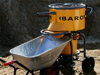 80 Litre Forced Action Mixer For Construction