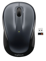 Logitech Logitech M325 - Colour Collection Limited Edition - Mouse - Optical - 3 Buttons - Wireless - 2.4 Ghz - Usb Wireless Receiver - Grey 910-002142 - xep01