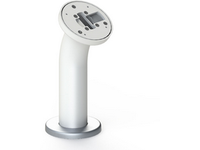 SpacePole Curved Select Pole, White Rotate Only SPM102-32 - eet01
