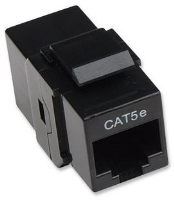 Intellinet RJ-45, Cat5e, black  504775 - eet01