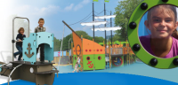 Aquatic Themed Play Equipment For Play Areas