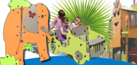 Adventure Themed Play Equipment For Playgrounds