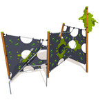 Vertical Climbing Structure For Playgrounds