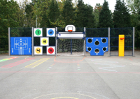 Multi Active Games Areas For Playgrounds