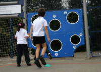 Skill Wall 2m For School Playgrounds