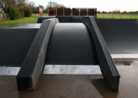 Grindrail Box Skatepark Equipment For Youth Clubs