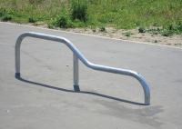 Drop Grind Rail Skatepark Equipment For Youth Clubs