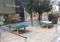 Natura Tennis Table For Fitness Parks