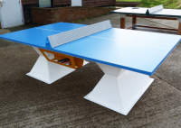 Slim Diabolo Table Tennis Table For Holiday Parks