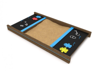 Closing Sandpit with Chalkboard