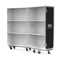 Extra Small Retail Display Flight Case with White Interior