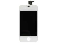 MicroSpareparts Mobile LCD display Assembly AIO White LCD, touch screen and glass MSPP1866 - eet01