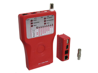 MicroConnect Network tester for RJ11,12,45 USB, IEEE1394, BNC lines CAB-TEST3 - eet01
