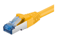 MicroConnect SFTP CAT6A 1,5M Yellow SNAGLES LSZH SFTP6A015Y - eet01