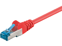 MicroConnect S/FTP CAT6A 10M Red LSZH PIMF( Pairs in metal foil) SFTP6A10R - eet01