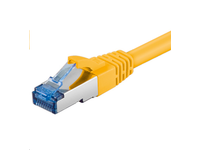 MicroConnect S/FTP CAT6A 1M Yellow LSZH PIMF( Pairs in metal foil) SFTP6A01Y - eet01