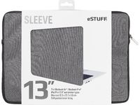 "ESTUFF 13'' Sleeve - Fits Macbook Pro Macbook Air, iPad Pro 12.9"" ES82250-TWILL - eet01"