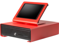 SpacePole SPCF103-22 C-Frame Cash Drawer EK300 - Red SPCF103-22 - eet01