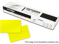 Capture Yellow Plastic Card (0.76mm) - Pack of 500 YL76-A - eet01