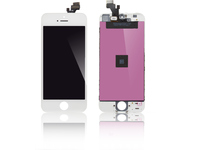 MicroSpareparts Mobile LCD for iPhone 5 White AUO Quality MOBX-IPC5G-LCD-W - eet01
