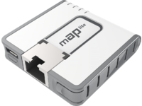 MikroTik MAP lite with 650Mhz CPU, 64MB RAM, 1xLAN, built-in Dual RBMAPL-2ND - eet01